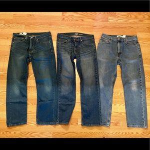 Men's Levi's Jeans bundle